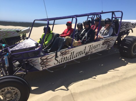 Sandland Tours