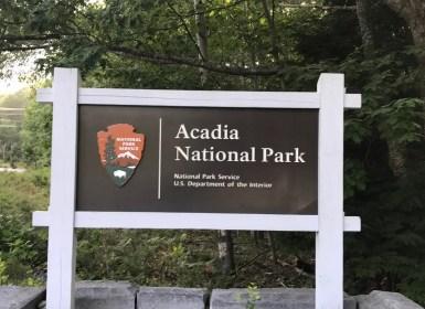 Acadia Sign