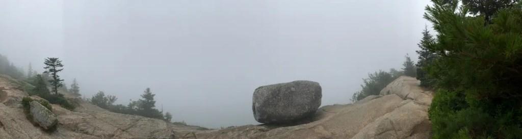 Bubble Rock Fog