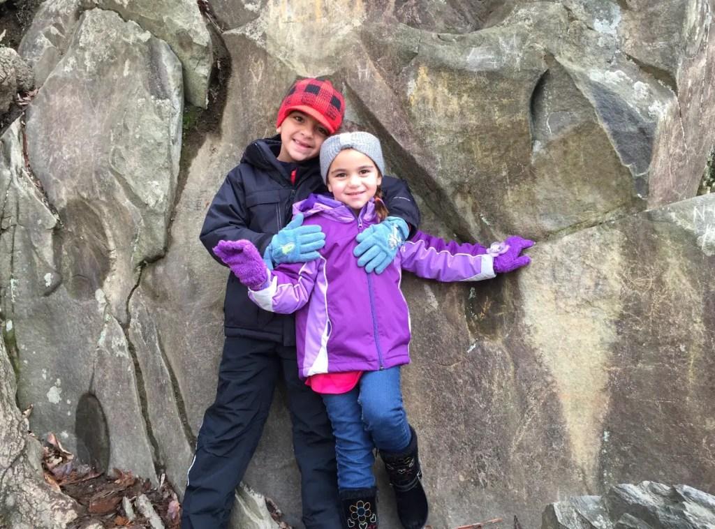 Kids Laurel Falls hike