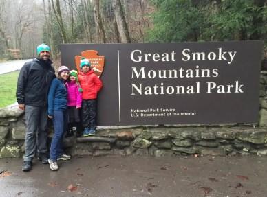 Smoky Mountain sign Fam