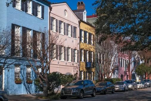 Charleston Rainbow Row