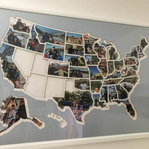 Personalized travel map 7/19