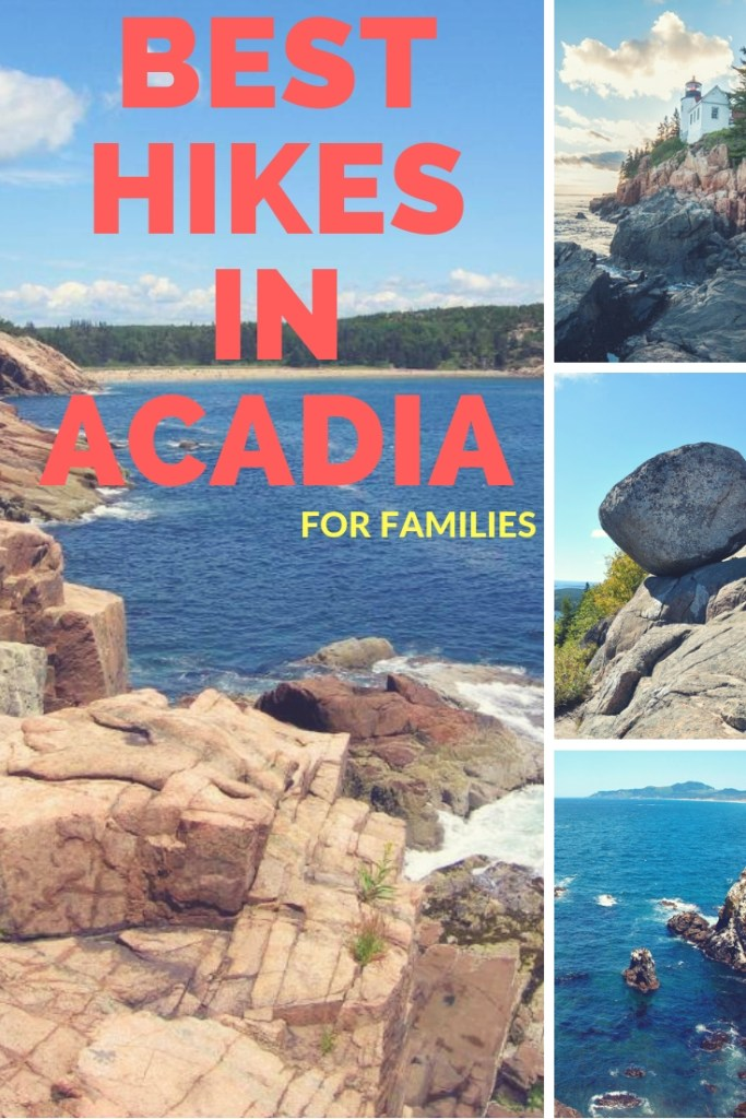 Best hikes in acadia for families cover
