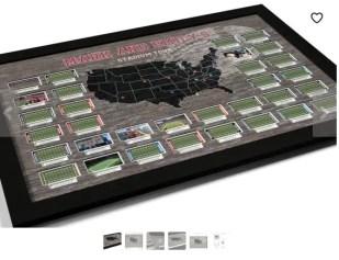 USA photo map stadiums
