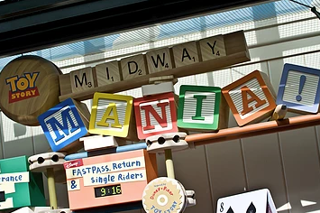 Toy Story Mania Fastpass