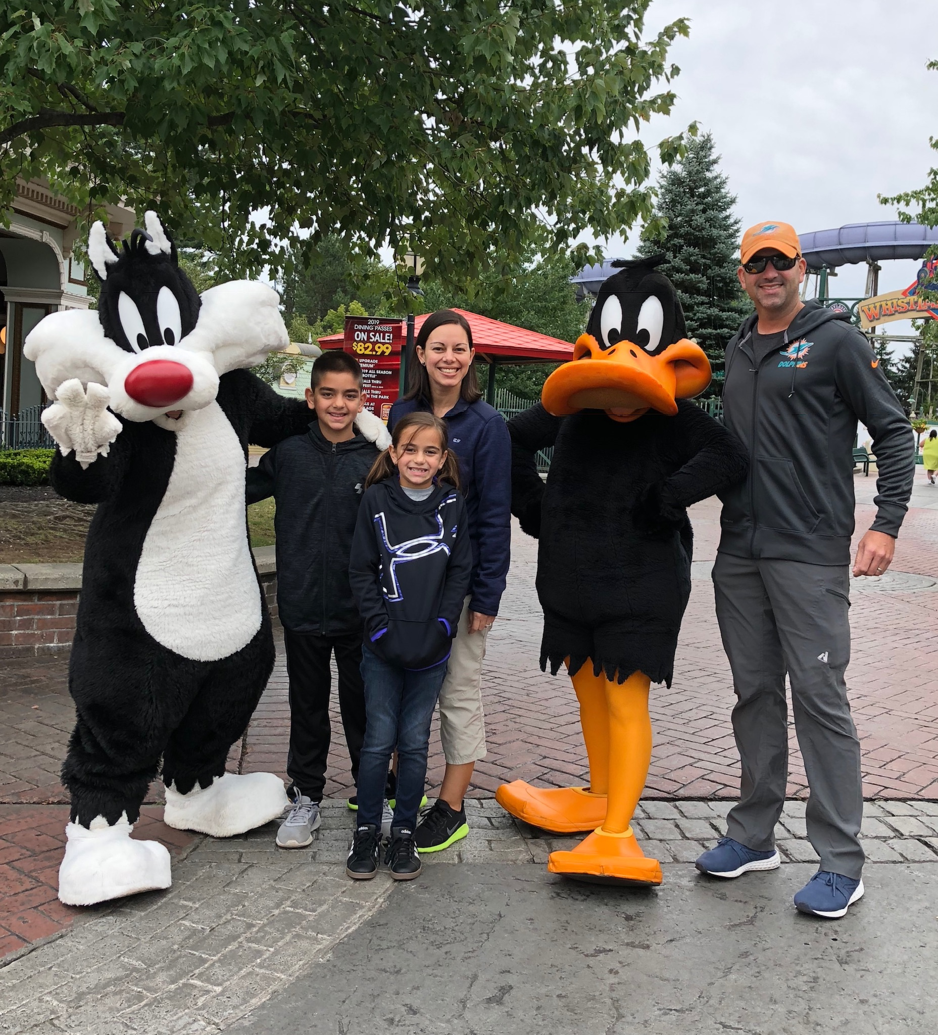 A Day at Six Flags New England - DQ Family Travel