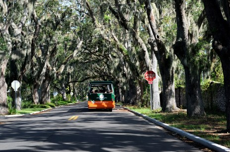 St. Augustine trolley Things to do in St. Augustine with Kids