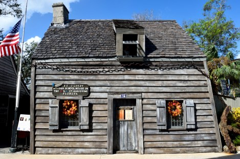 Oldest Wooden schoolhouse things to do in st. augustine with kids
