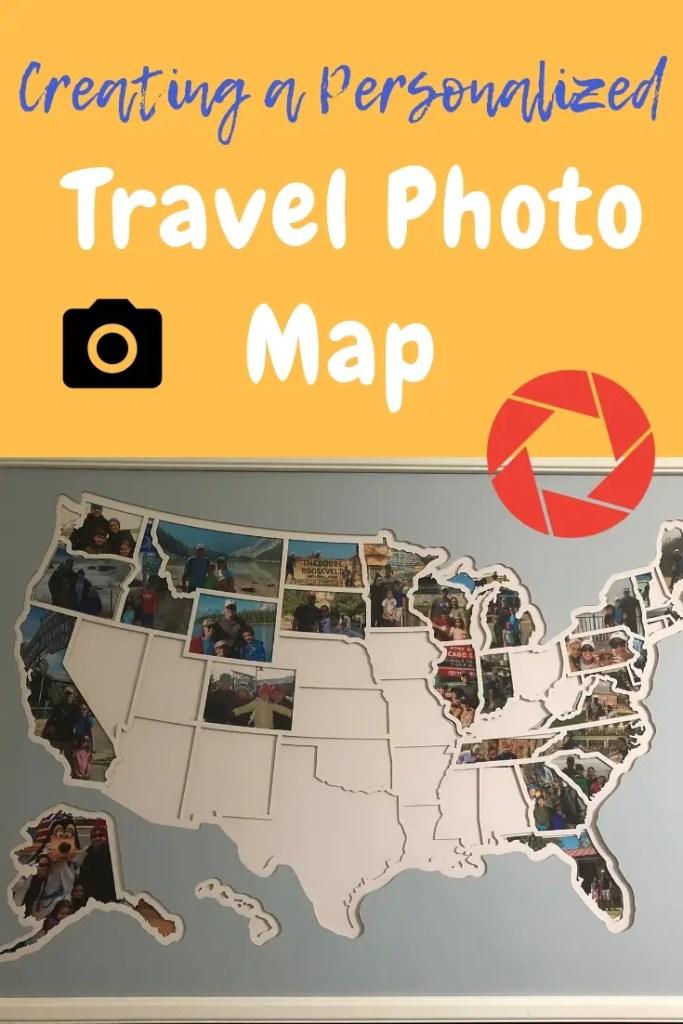 travel photo map