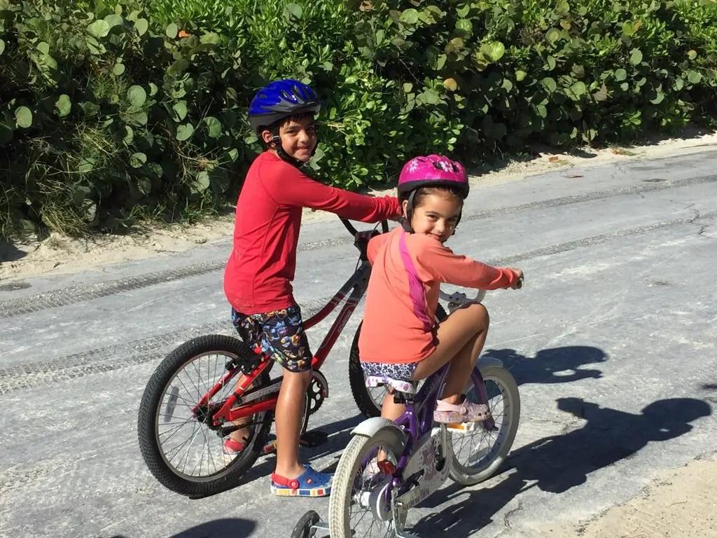 Bike ride Castaway Cay