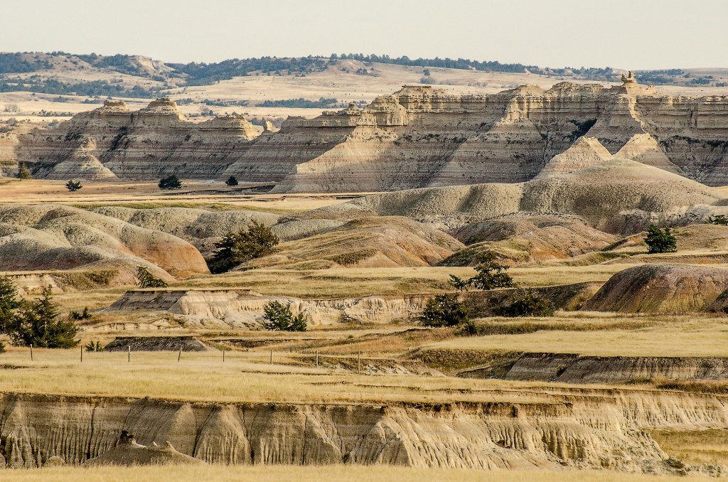 Badlands the national parks