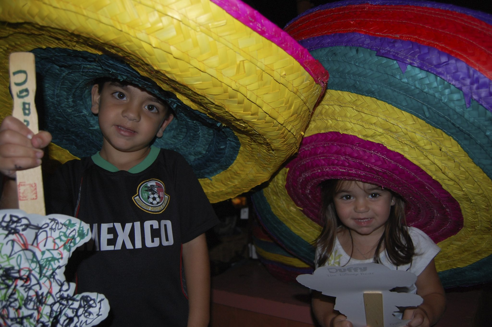 Epcot Mexico kids