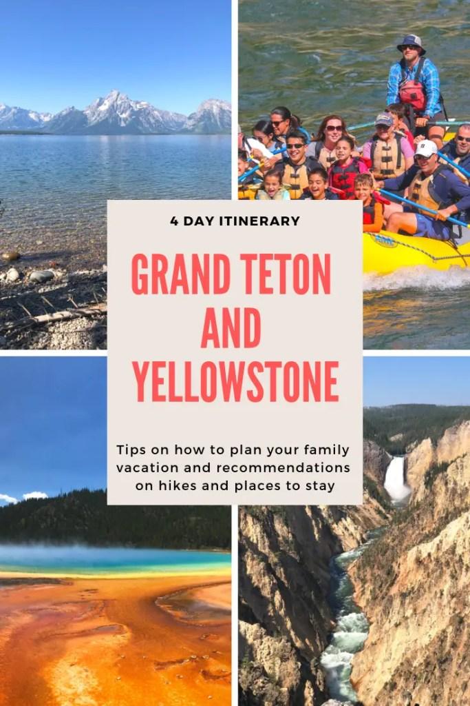 Grand Teton to Yellowstone