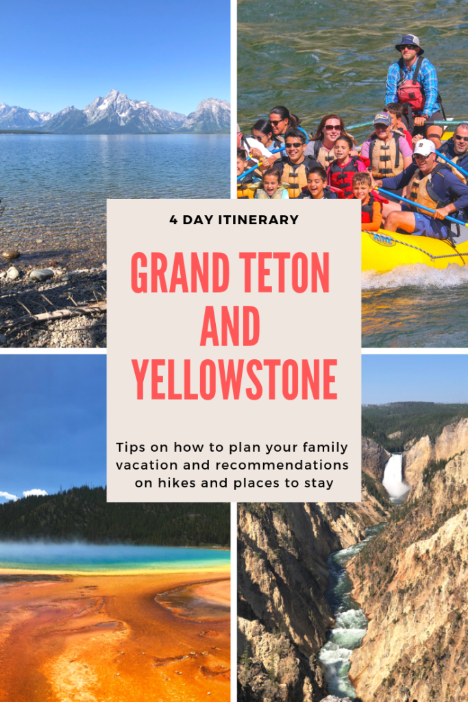 Grand teton and Yellowstone Pin