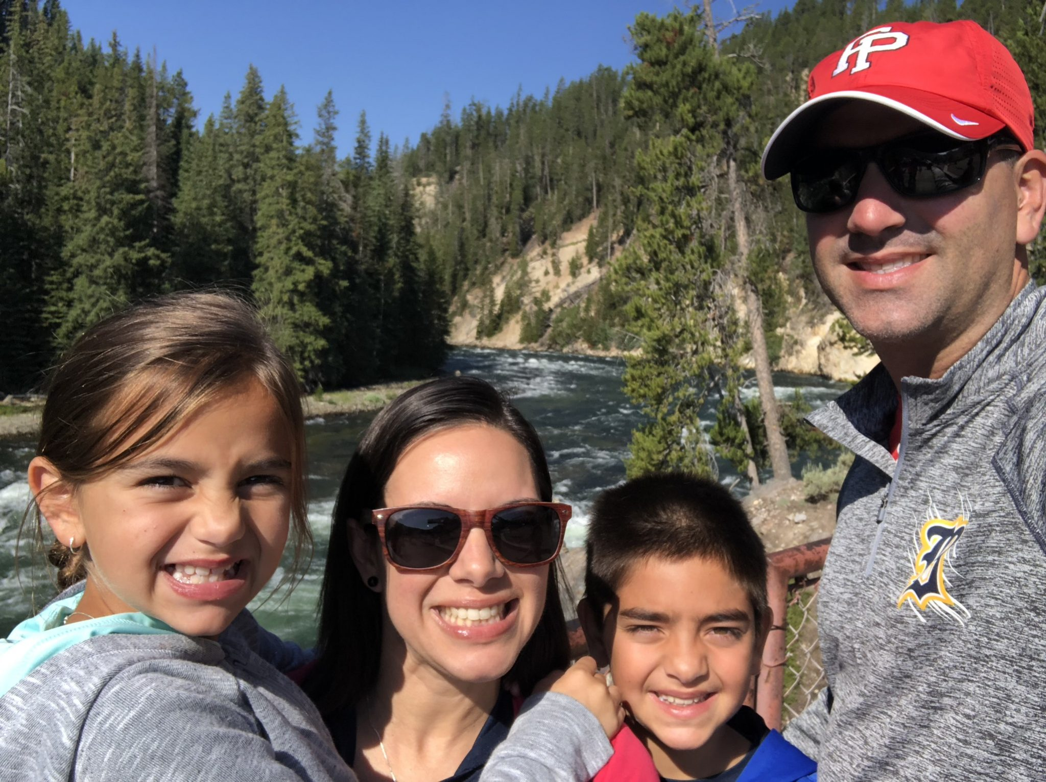 National Parks Yellowstone Family