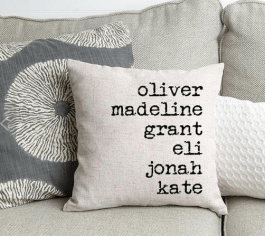 Throw Pillow mother's day gifts online guide