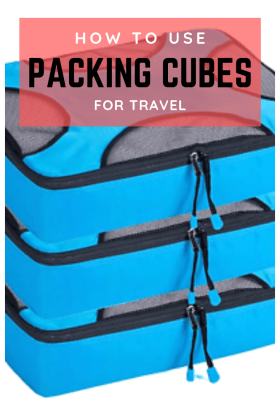 Using Packing cubes