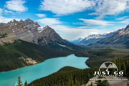 Payto Lake Canadian Rockies Vacation