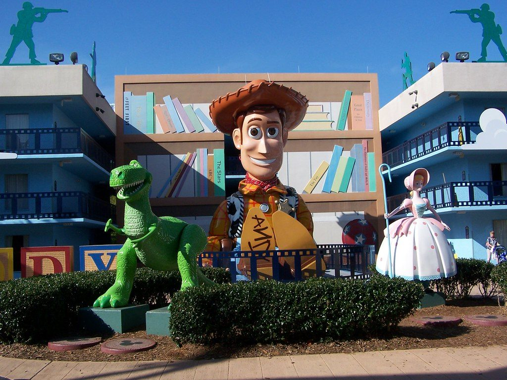 all star movies review woody