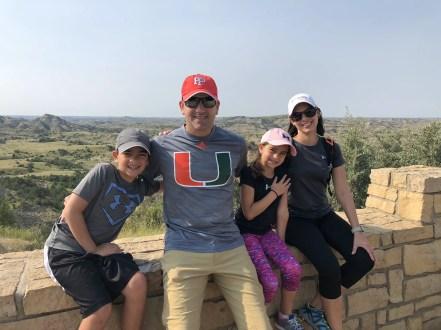 North Dakota national parks family