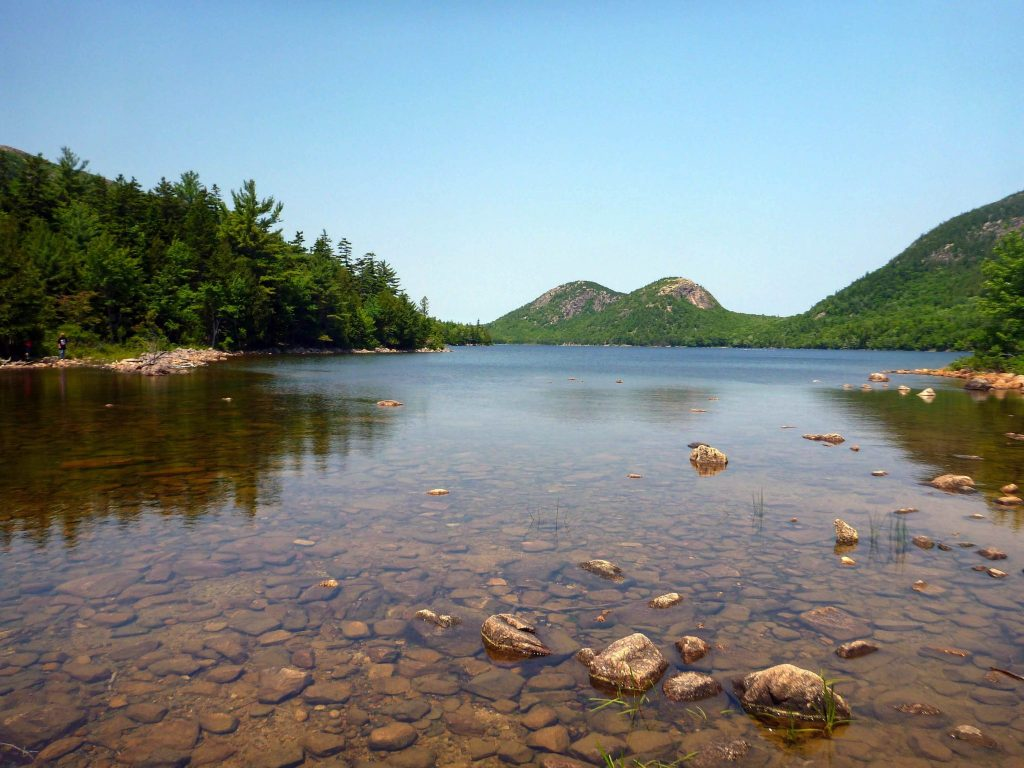 Jordan Pond kid friendly hiking trails