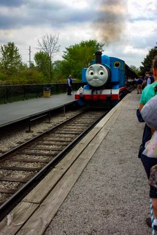 michigan with kids Thomas the train