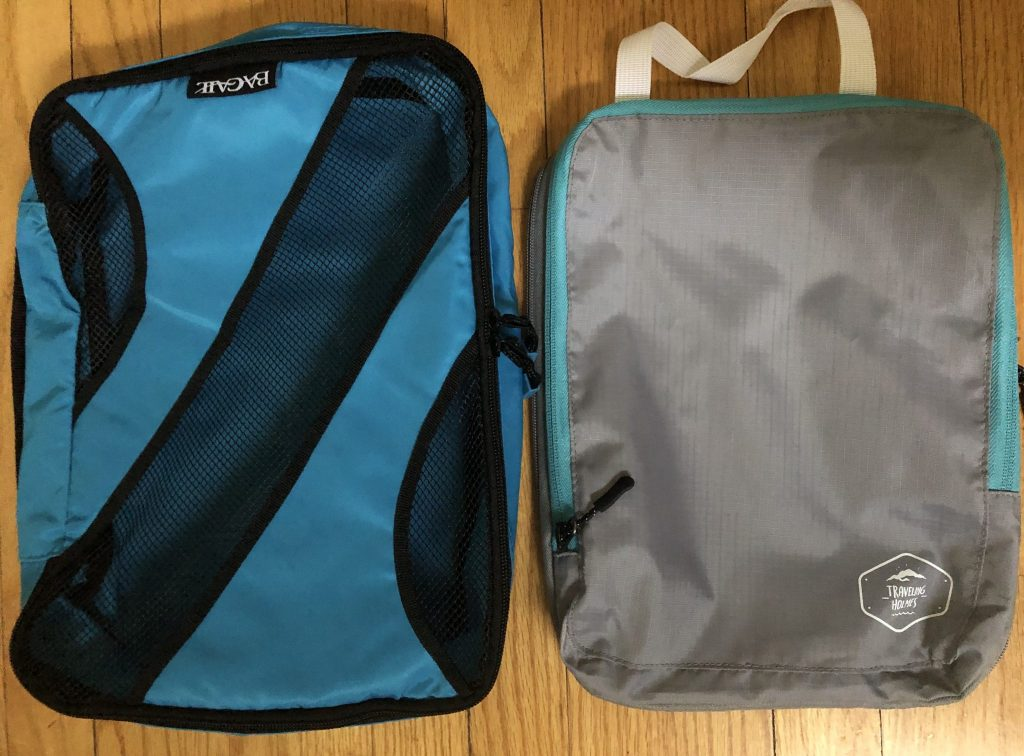 compression packing cubes comparison
