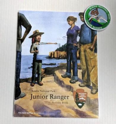 junior ranger booklet acadia