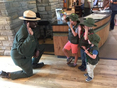 junior ranger badges smoky mountain