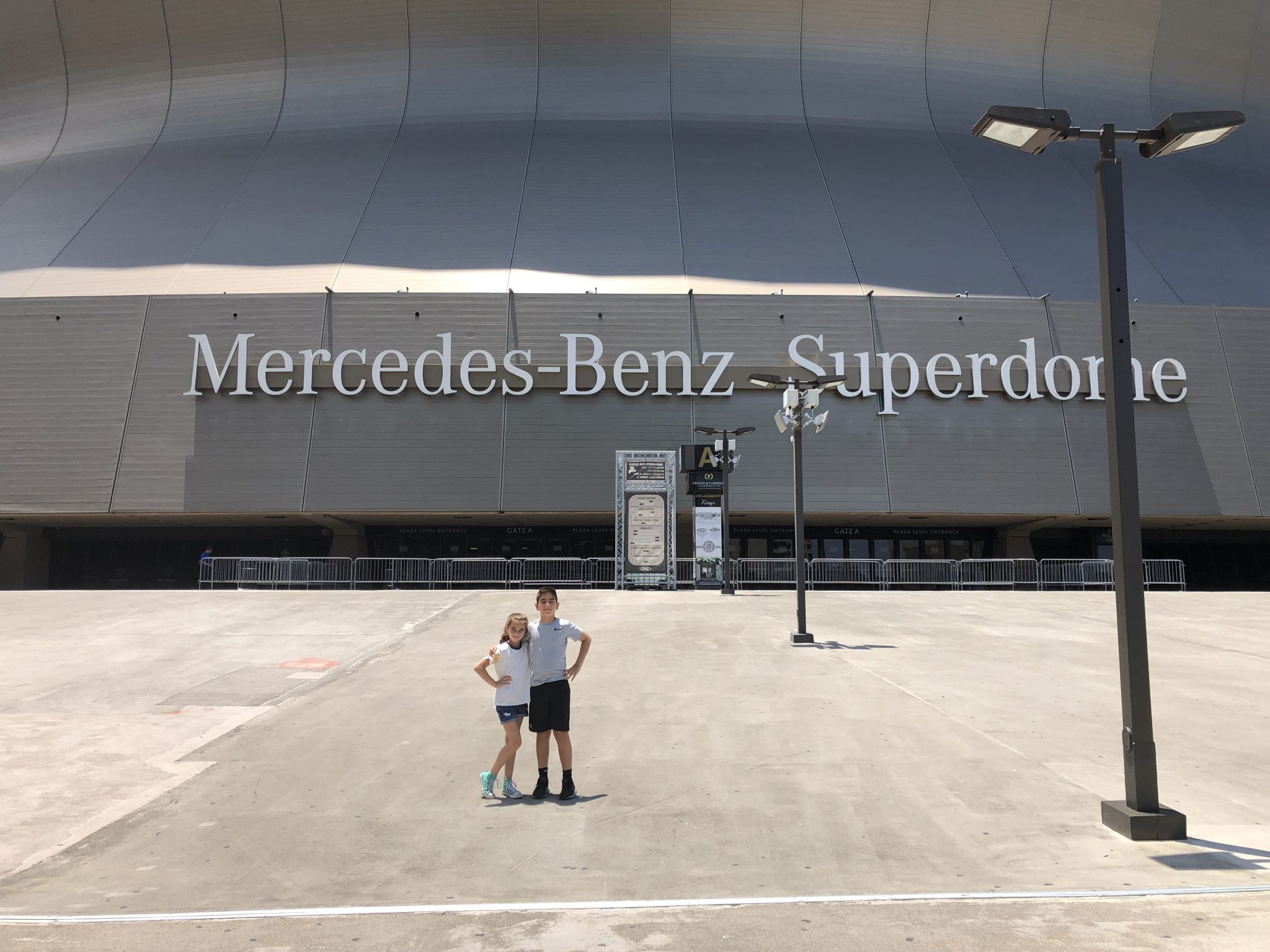 What to do in New Orleans with kids Saints