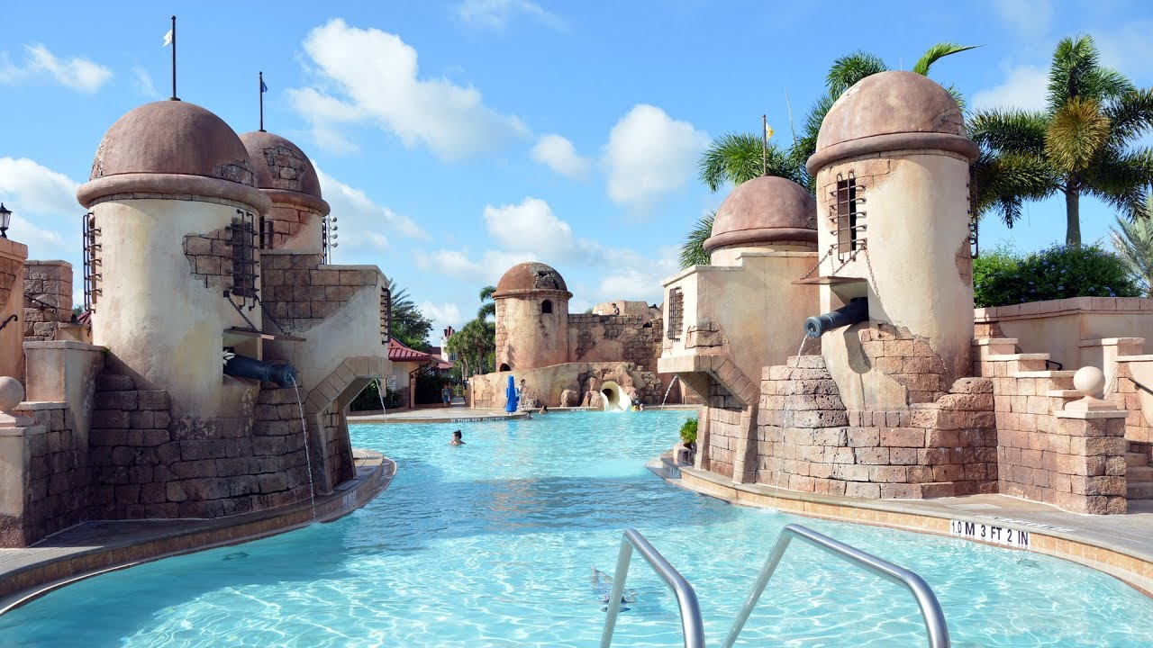 Disney Moderate Resorts Pool Caribbean