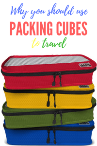 why use packing cubes