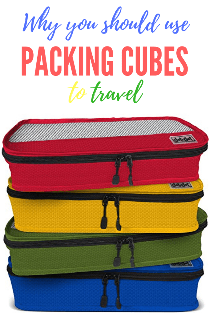 Why use packing cubes pin