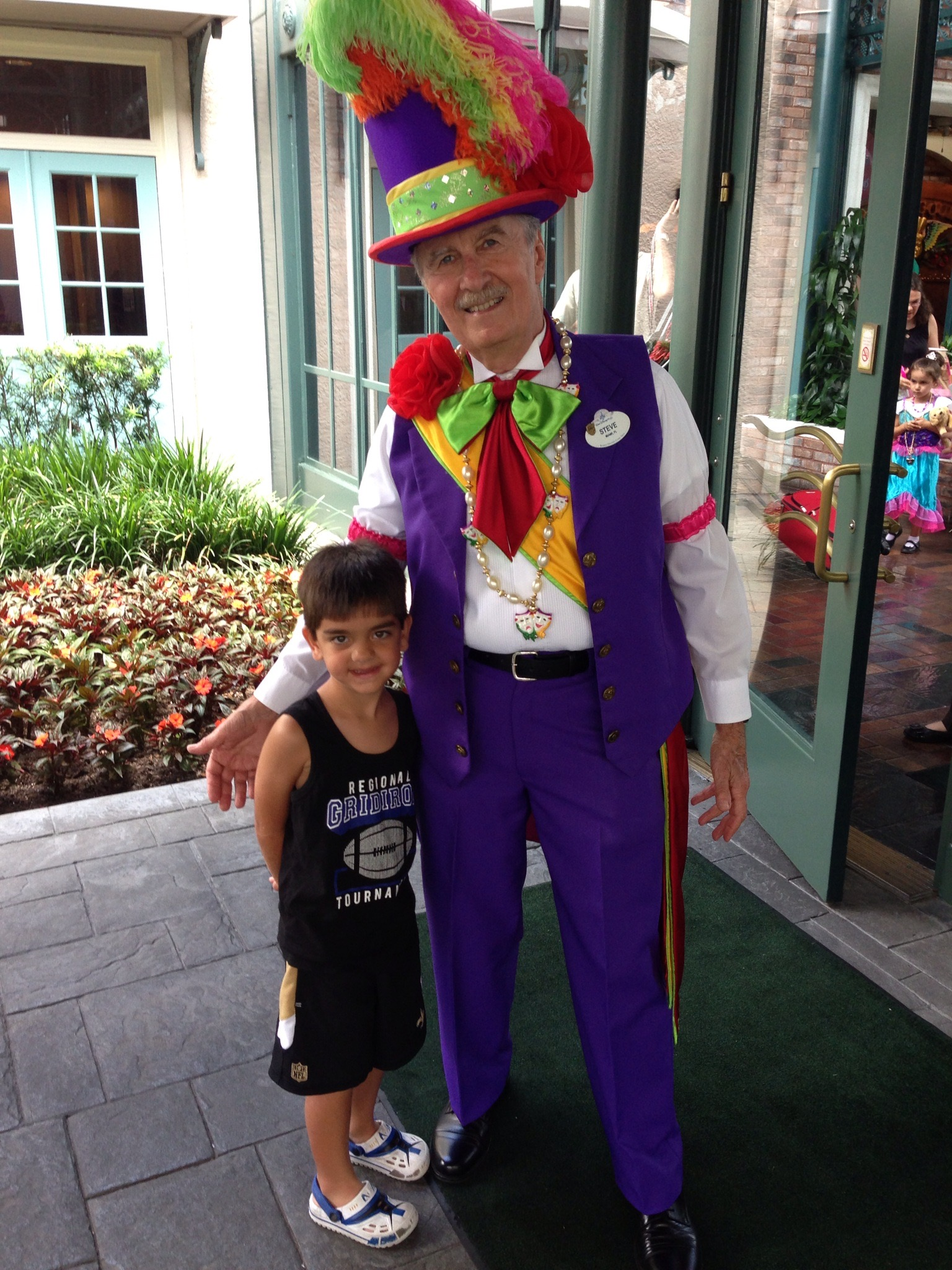 Disney Moderate Resorts french quarter greeter