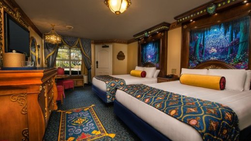 Royal guest rooms Disney Moderate resorts