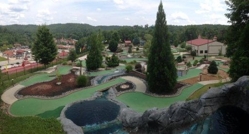 helen ga things to do mini golf