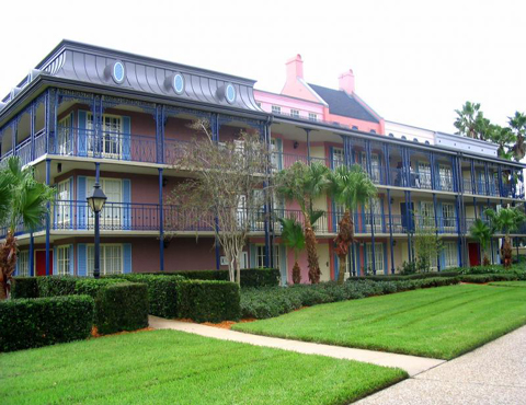 Disney Moderate Resorts French Quarter rooms
