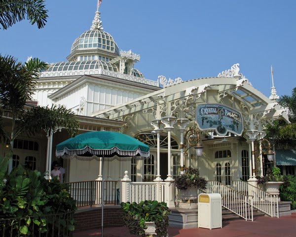 Best Restaurants in Magic Kingdom crystal palace