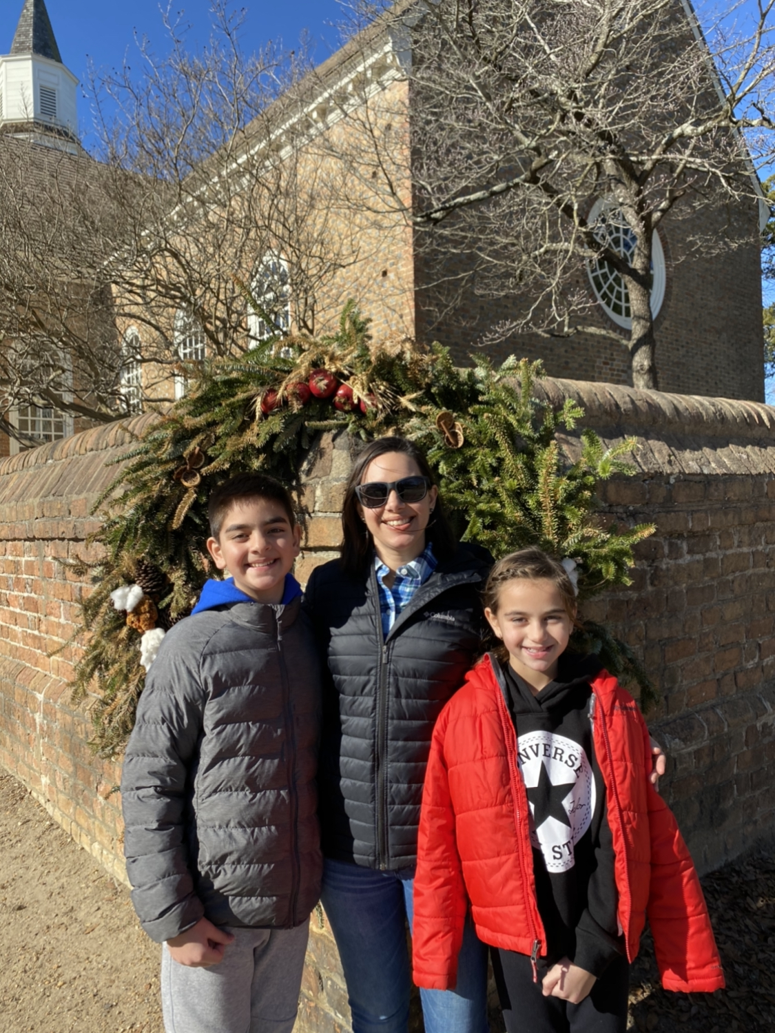 Colonial Williamsburg with kids Christmas