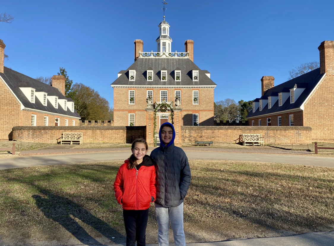 Colonial Williamsburg for kids Mansion