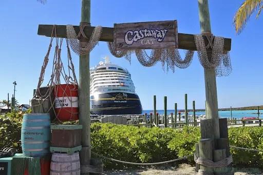 Castaway Cay Activities Entrance