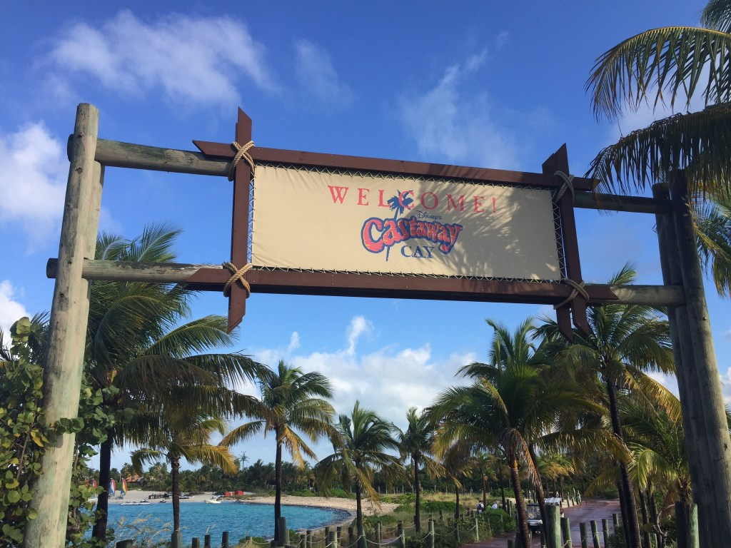 Castaway Cay welcome