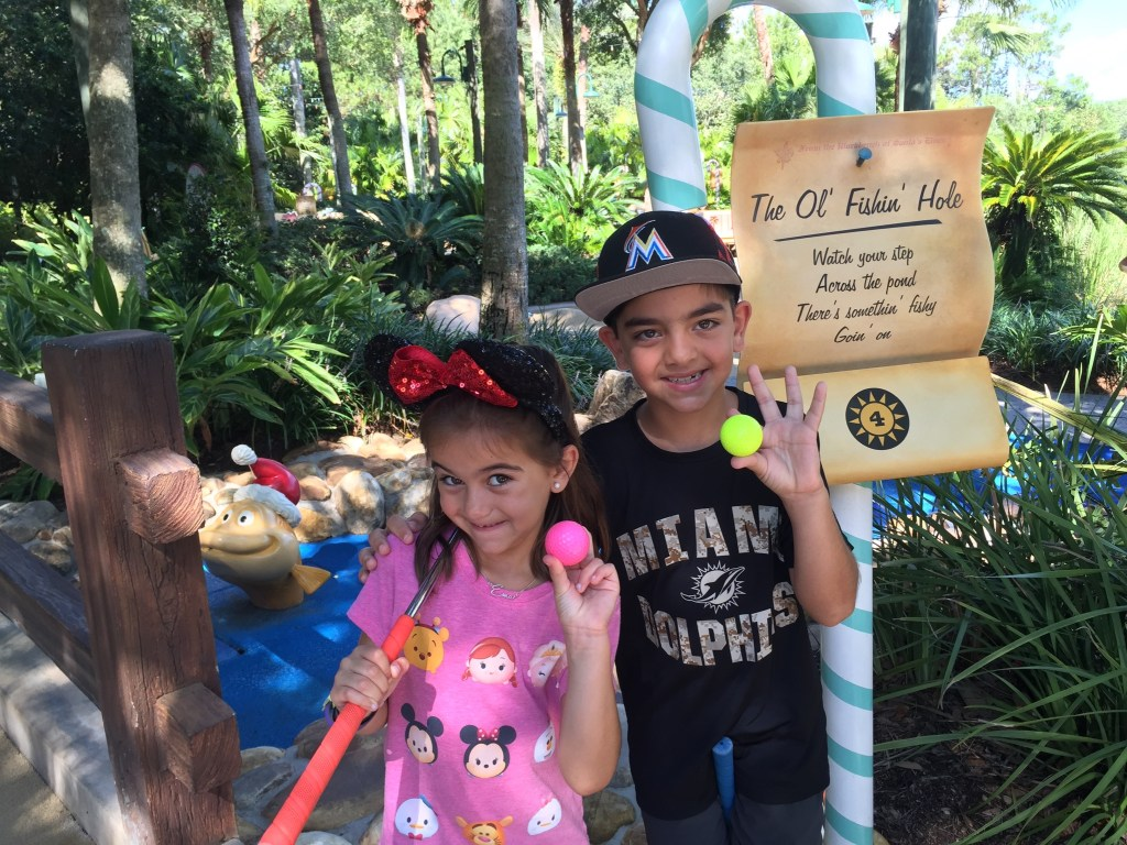 Things to do in Disney World besides the park mini golf