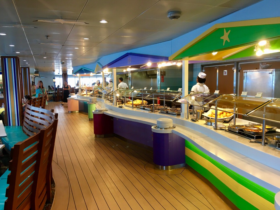 Disney Cruise restaurants cabanas