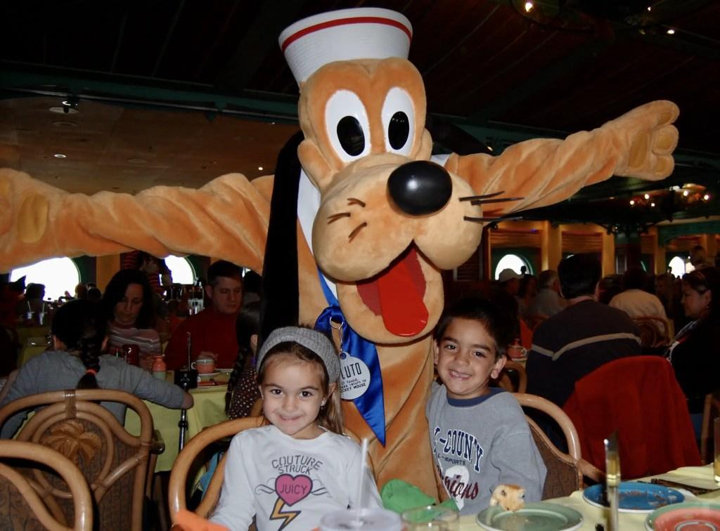 Disney Cruise Restaurant Pluto