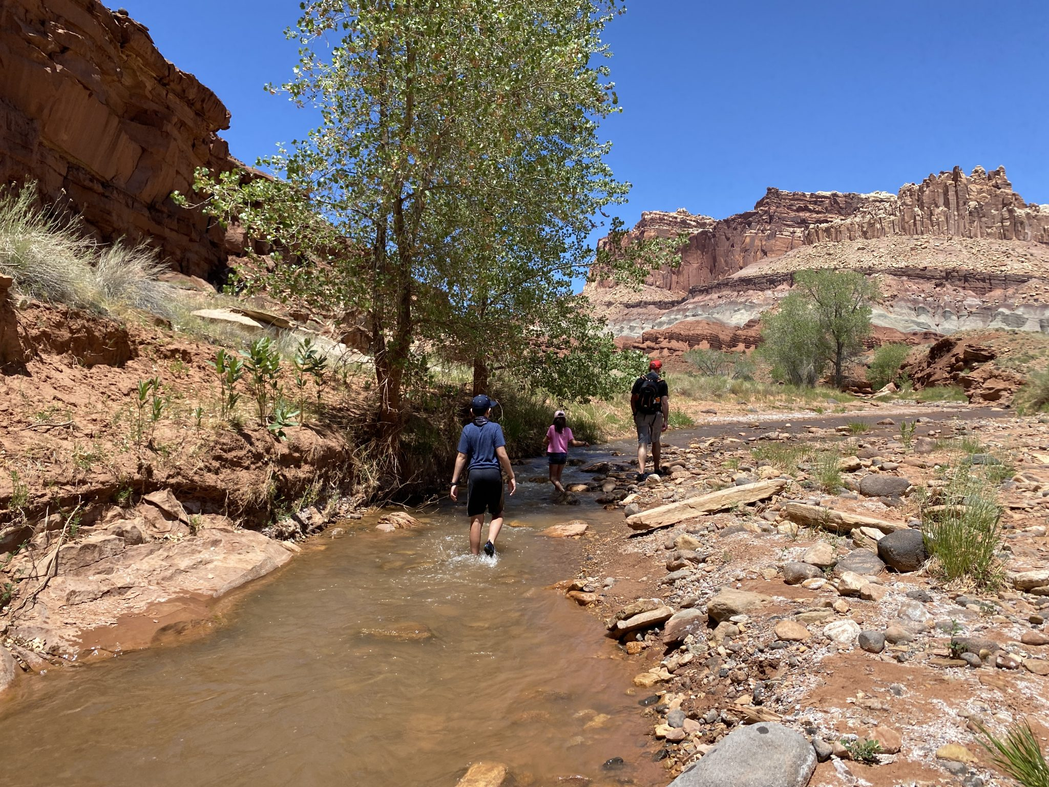 Capitol Reef walking