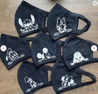 Disney packing list masks