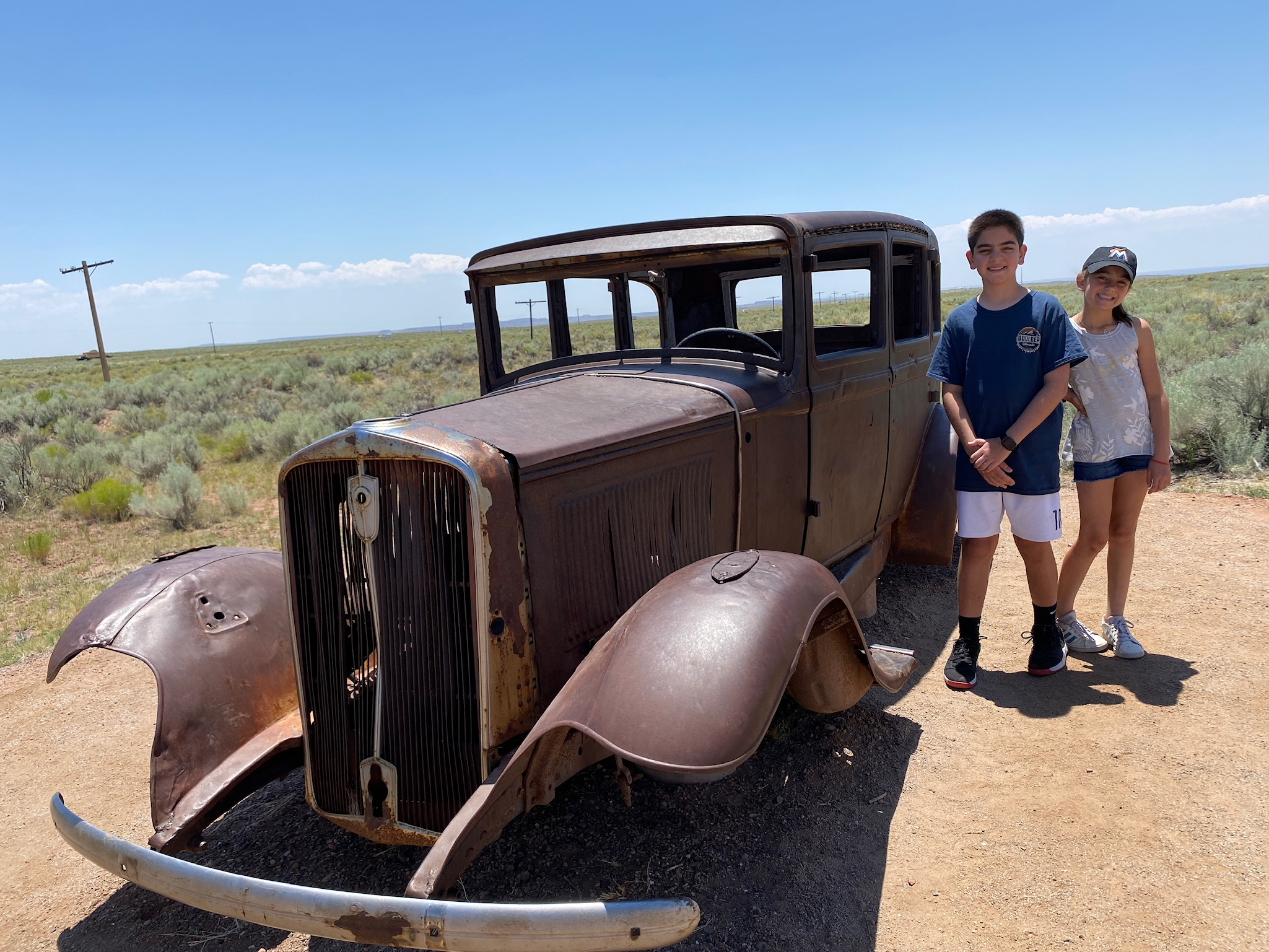 Petrified Forest NP Car