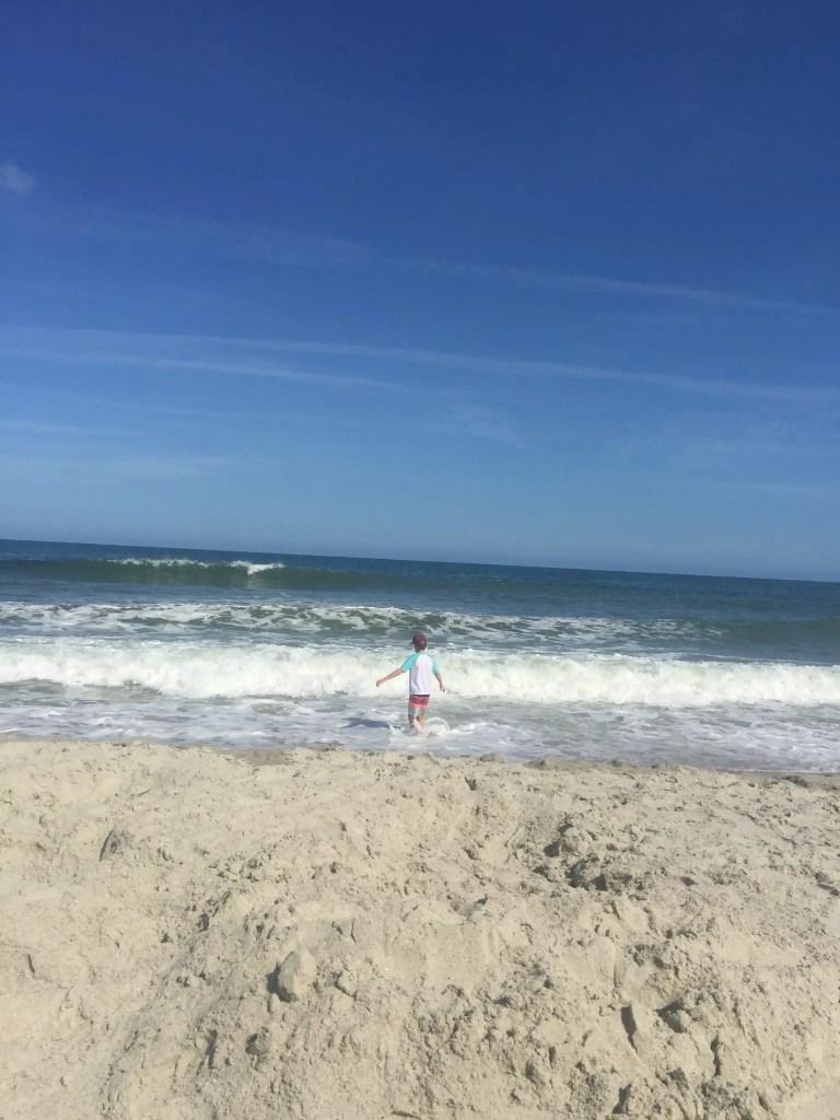 Southeast vacation spots Kure Beach
